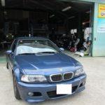 BMW・E46の天井張り替え事例