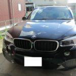 BMW・X5 シートのスレをリペア