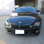 BMW650iのダッシュボードリペア 愛知県尾張旭市K様のお車
