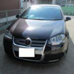 GOLFの天井張替(全部剥がれてる) 愛知県日進市M様のお車