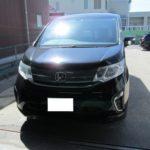 車内の灯油の臭いの消臭(ステップワゴン)|岐阜県関市のJ社様