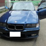 BMW3シリーズM3の天井張り替え(生地が浮いてきた)|愛知県豊田市 N様のお車の天井内装修理