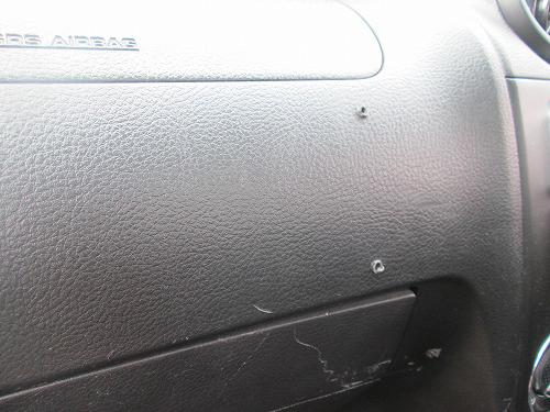 ダッシュボードのナビのビス痕を綺麗にしたい。